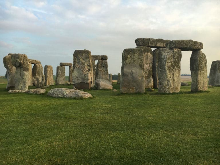 Picture of Stonehenge in England.